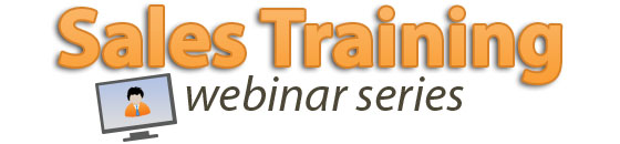 sales training webinar series